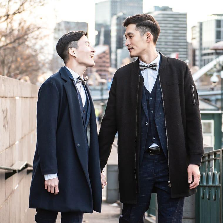 Rò rỉ bộ ảnh cưới lãng mạn của cặp đôi đồng tính nổi tiếng nhất Đài Loan (Trung Quốc) - Ảnh 1.