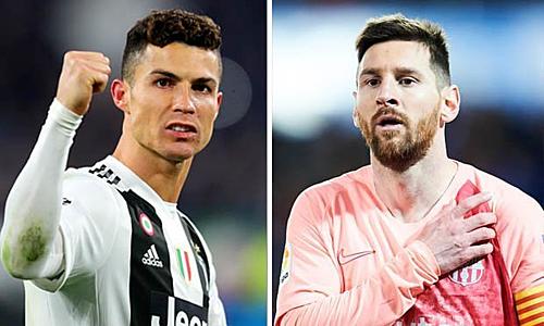 Ronaldo chạm mốc ghi 600 bàn trước Messi - Ảnh 1.