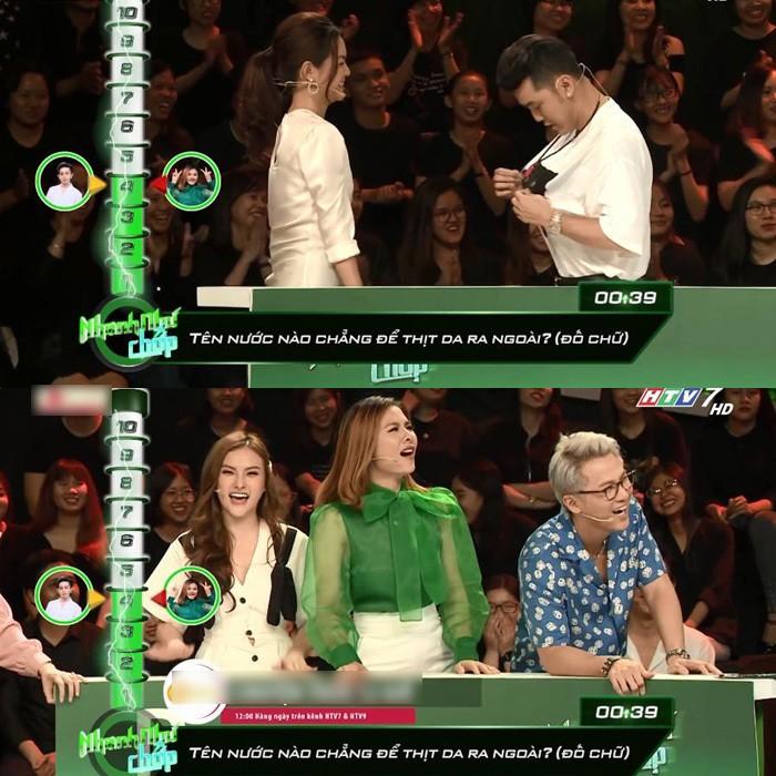 Vân Trang bị chỉ trích vì nhắc bài lộ liễu, làm lố tại Nhanh như chớp - Ảnh 3.