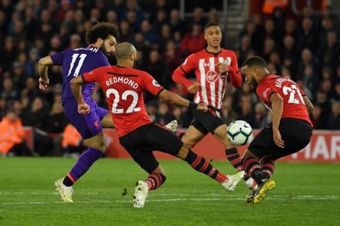 Mohamed Salah lập công, Liverpool lội ngược dòng thắng Southampton - Ảnh 2.