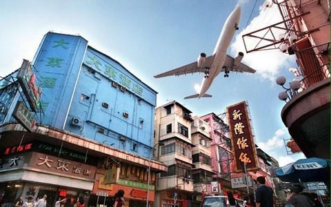 Thời hoàng kim của sân bay khó hạ cánh nhất thế giới ở Hong Kong