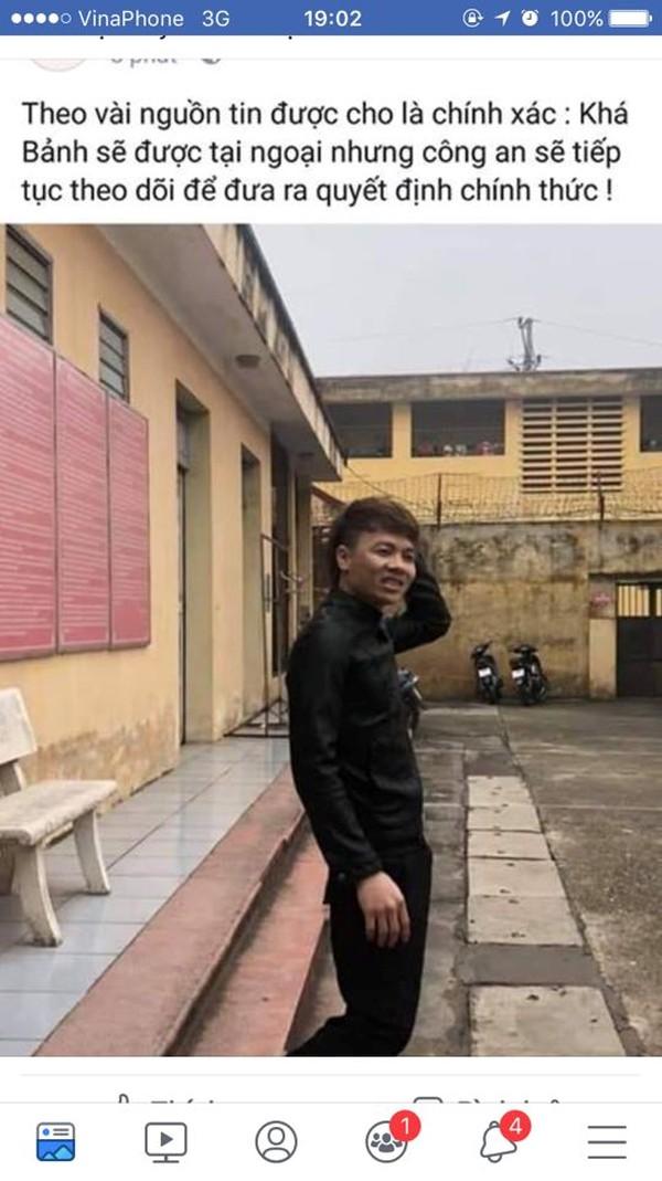 Công an Bắc Ninh lên tiếng trước thông tin Khá 'bảnh' được tại ngoại - Ảnh 1.