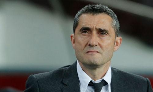Valverde: Barca sẽ cố xóa dớp chưa từng thắng tại Old Trafford - Ảnh 1.