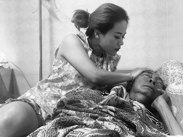 Con gái Lê Bình nghẹn ngào nhắn nhủ với người cha quá cố: Dù thế giới có như thế nào, trong tim con vẫn luôn có ba - Ảnh 1.
