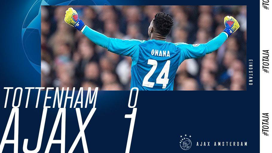 Vắng Kane và Son Heung Min, Tottenham bất lực nhìn Ajax thắng sát nút trên sân nhà, đặt 1 chân vào chung kết - Ảnh 1.