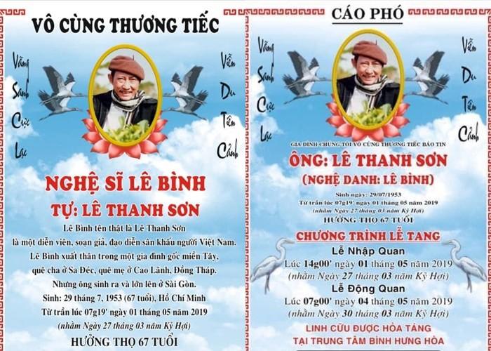 Nghệ sĩ Việt đau buồn khi tới viếng nghệ sĩ Lê Bình - Ảnh 1.