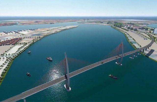 Đề xuất xây cầu vượt biển nối Cần Giờ - Vũng Tàu - Ảnh 1.