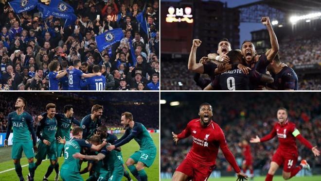 Bóng đá Anh lập kỳ tích chưa từng có trong lịch sử cúp châu Âu - Ảnh 1.