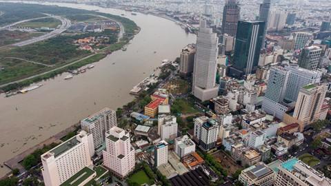 Đất vàng Sài Gòn hơn 20 năm vẫn chưa thi công xong phần... móng - Ảnh 1.