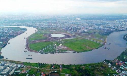 Giá đất bán đảo Hiệp Bình Phước tăng 5 lần trong nửa thập niên - Ảnh 1.