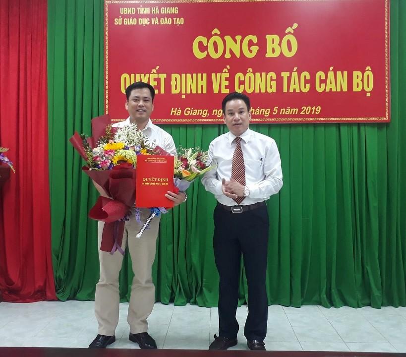 9 tháng sau bê bối thi cử, Hà Giang có Trưởng phòng Khảo thí mới  - Ảnh 1.