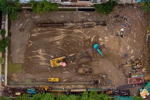 Đất vàng Sài Gòn hơn 20 năm vẫn chưa thi công xong phần... móng - Ảnh 4.