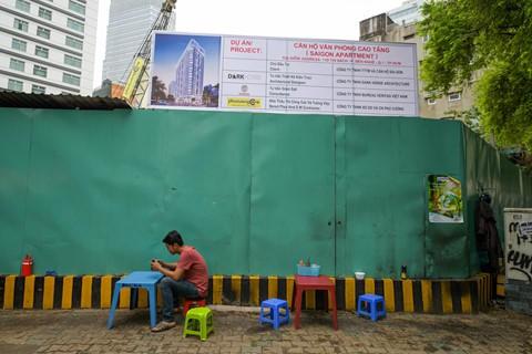 Đất vàng Sài Gòn hơn 20 năm vẫn chưa thi công xong phần... móng - Ảnh 6.