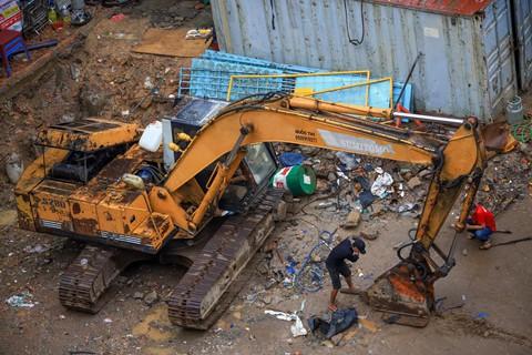 Đất vàng Sài Gòn hơn 20 năm vẫn chưa thi công xong phần... móng - Ảnh 7.