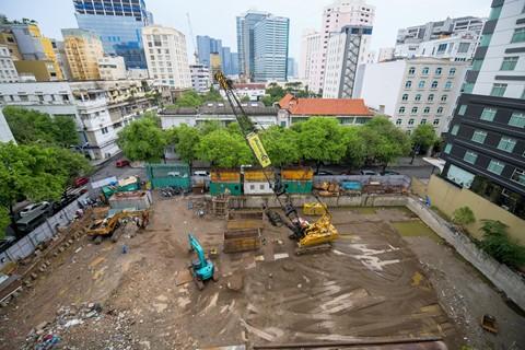 Đất vàng Sài Gòn hơn 20 năm vẫn chưa thi công xong phần... móng - Ảnh 9.