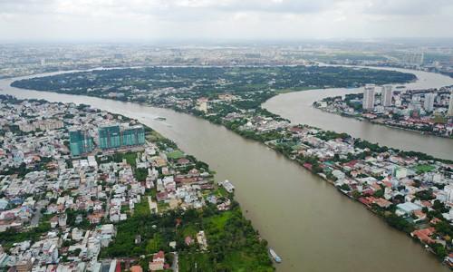 Gần 200 triệu đồng mỗi m2 đất trên bán đảo Thanh Đa - Ảnh 1.
