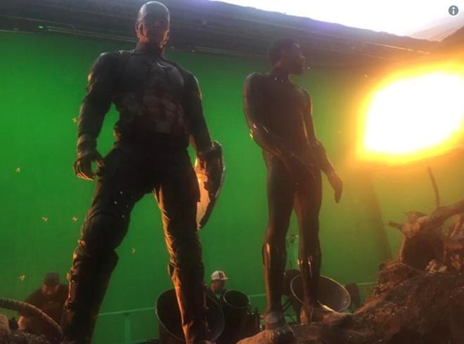10 ảnh hậu trường Avengers: Endgame ấn tượng nhất - Ảnh 4.