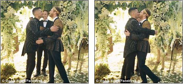 Đám cưới xa hoa của cặp đồng tính giữa núi rừng khiến nhiều người phát hờn - Ảnh 15.