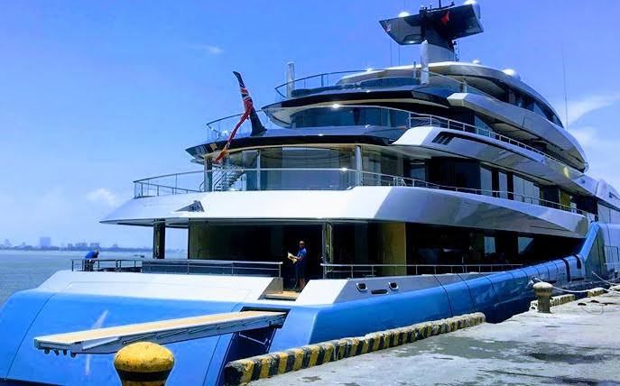 Siêu du thuyền 150 triệu USD của ông chủ CLB bóng đá Tottenham bất ngờ đến Đà Nẵng - Ảnh 3.