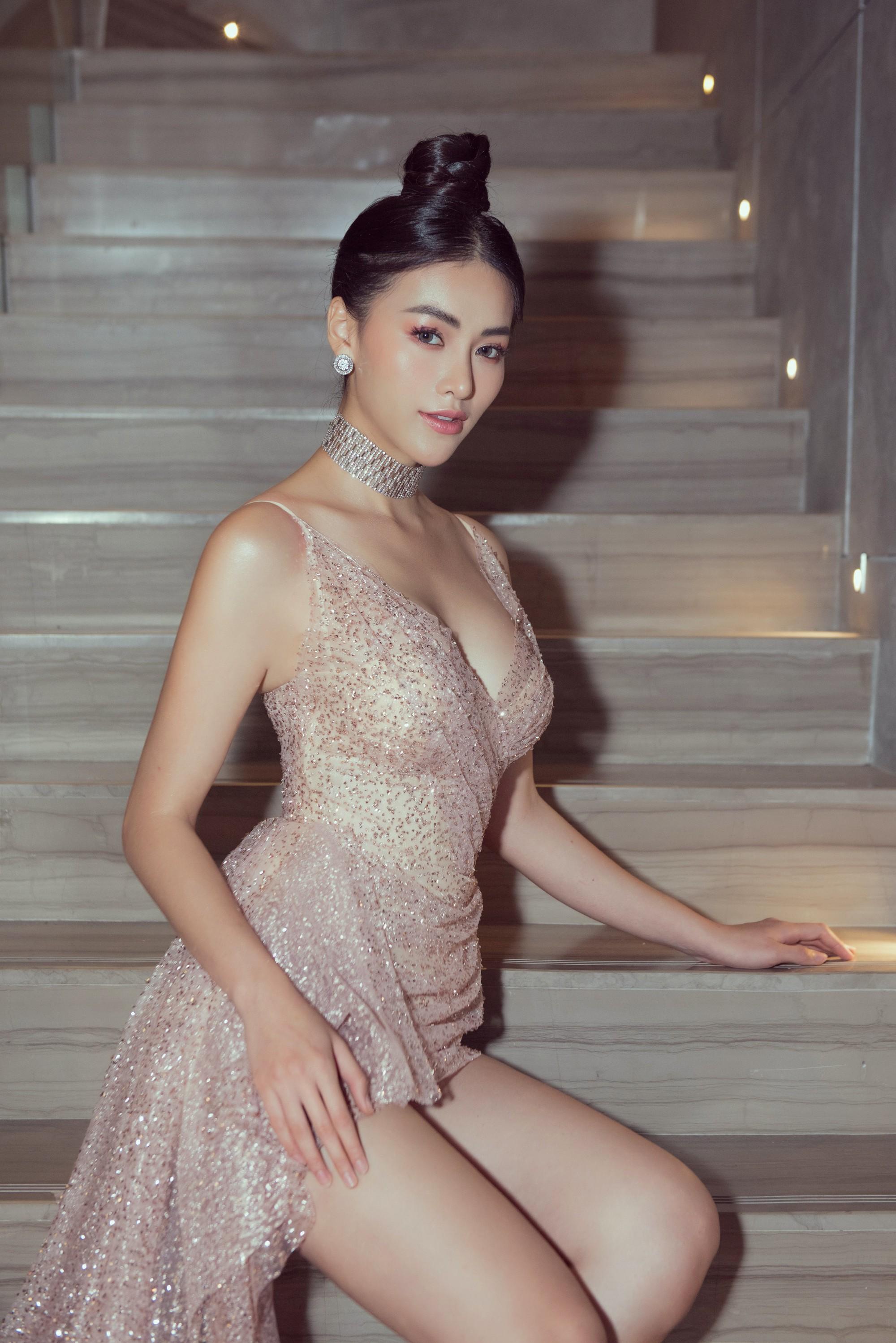 Hoa hậu Phương Khánh giảm 10 kg để sở hữu vòng eo 54 cm - Ảnh 3.