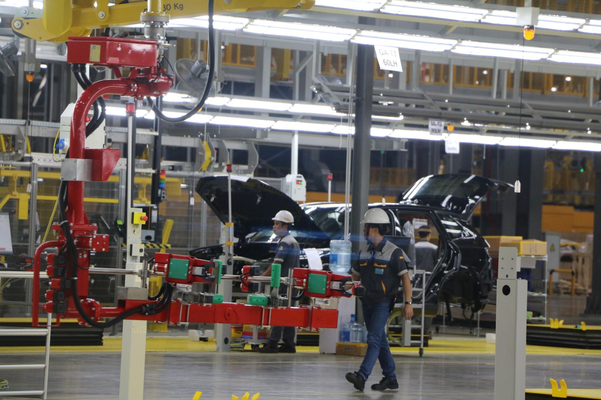Xem quy trình lắp ráp ôtô VinFast trước ngày đi vào sản xuất thương mại - Ảnh 12.