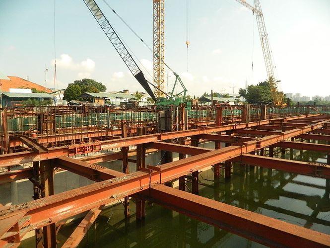 Tân Chủ tịch HĐND TP HCM kiểm tra dự án chống ngập 10.000 tỉ đồng - Ảnh 3.