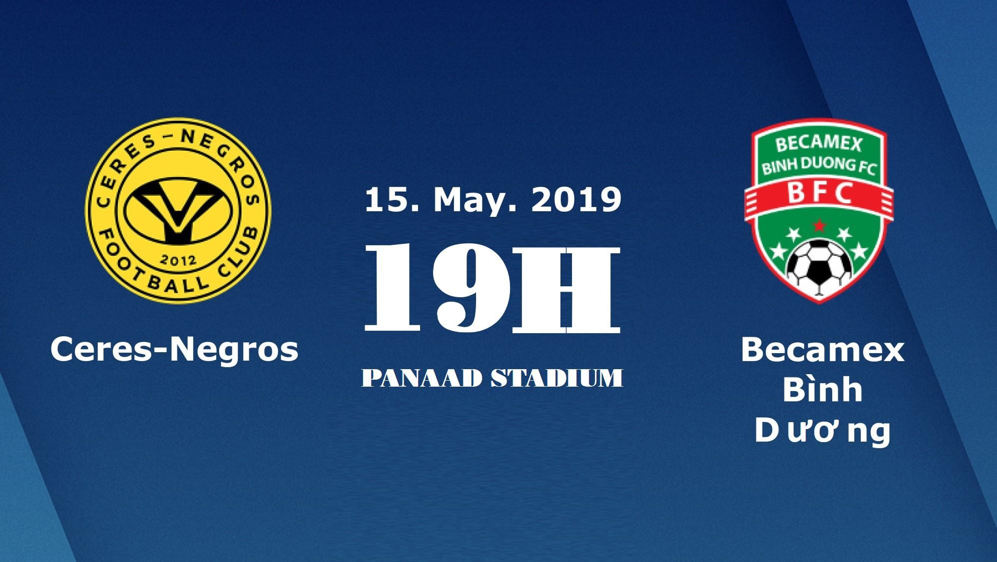 Nhận định Ceres Negros vs Bình Dương (19h00, 15/5) vòng 6 AFC Cup 2019: Thắng để lách cửa hẹp - Ảnh 1.