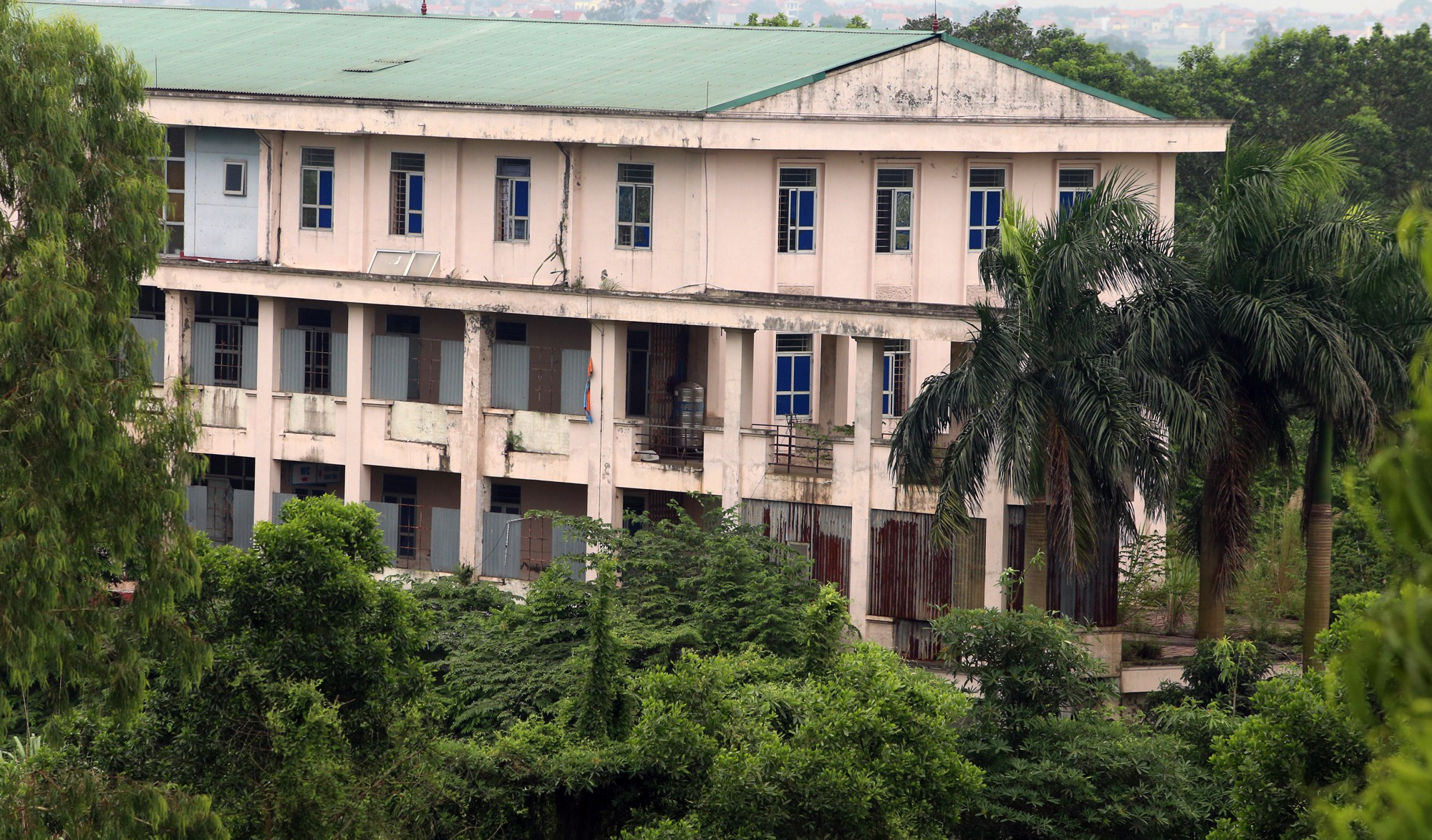 Bệnh viện qui mô 1.000 giường ở Hà Nội thành nơi nuôi gà - Ảnh 10.