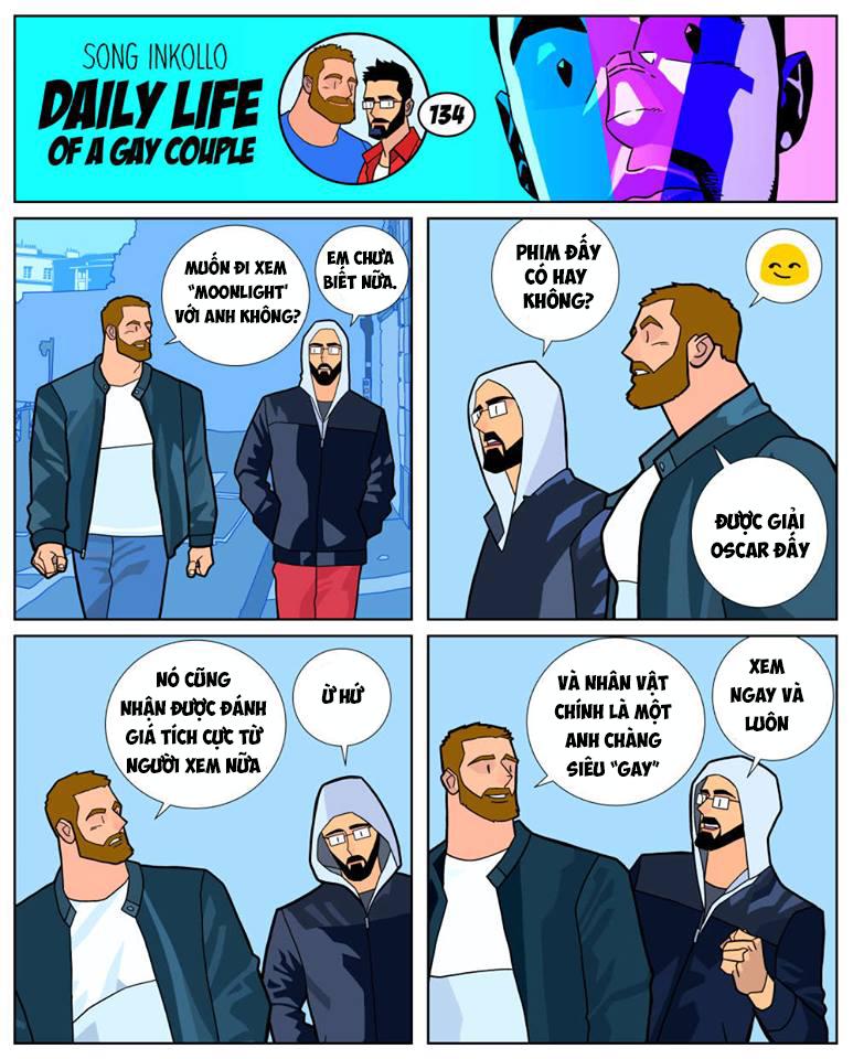 Bộ truyện tranh về cuộc sống thường nhật của một cặp đồng tính (P.2) - Ảnh 1.