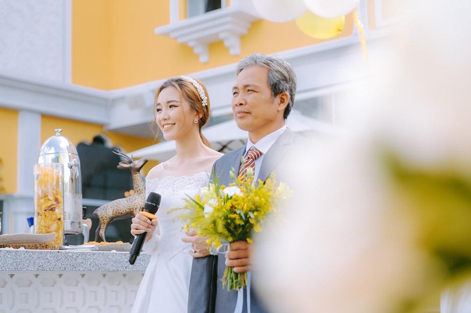 Lễ nguyện thề hạnh phúc của cặp đồng tính nữ Yun Bin và Tú Tri - Ảnh 8.