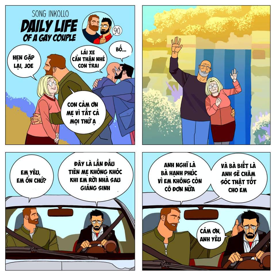 Bộ truyện tranh về cuộc sống thường nhật của một cặp đồng tính (P.2) - Ảnh 8.
