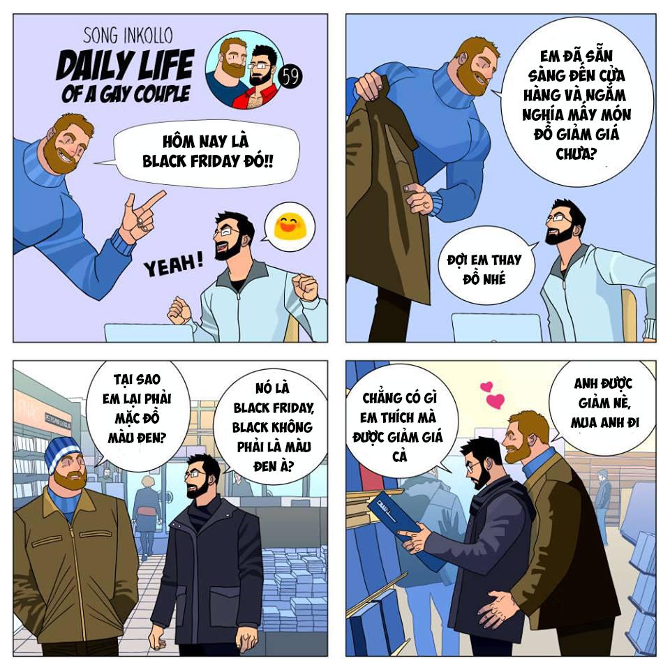 Bộ truyện tranh về cuộc sống thường nhật của một cặp đồng tính (P.2) - Ảnh 10.