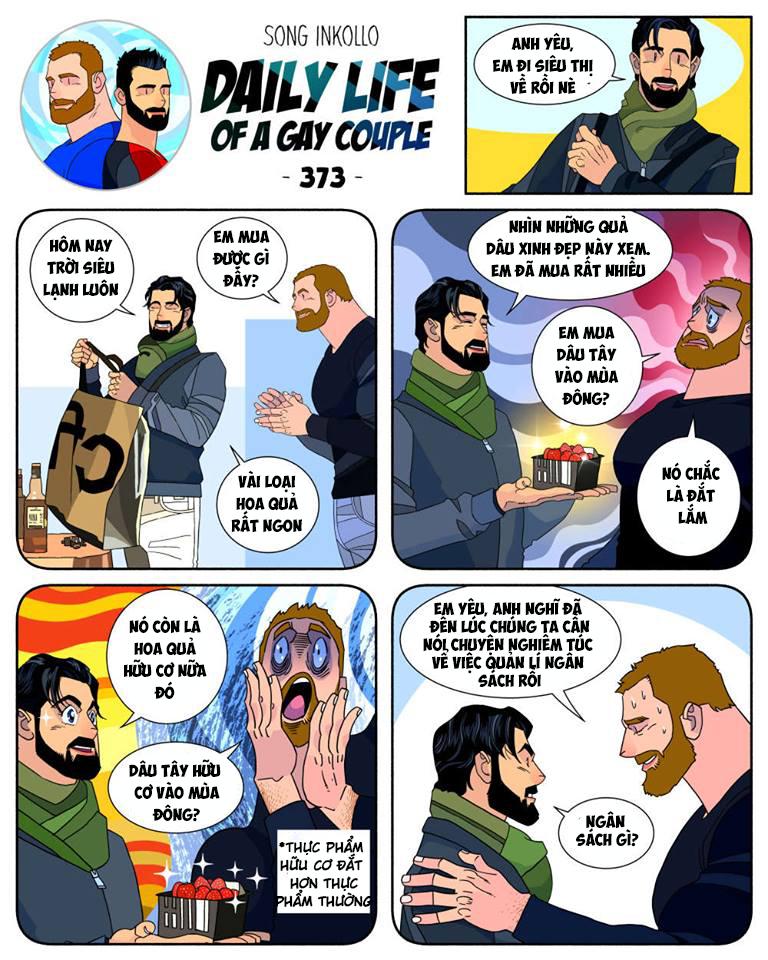Bộ truyện tranh về cuộc sống thường nhật của một cặp đồng tính (P.2) - Ảnh 5.