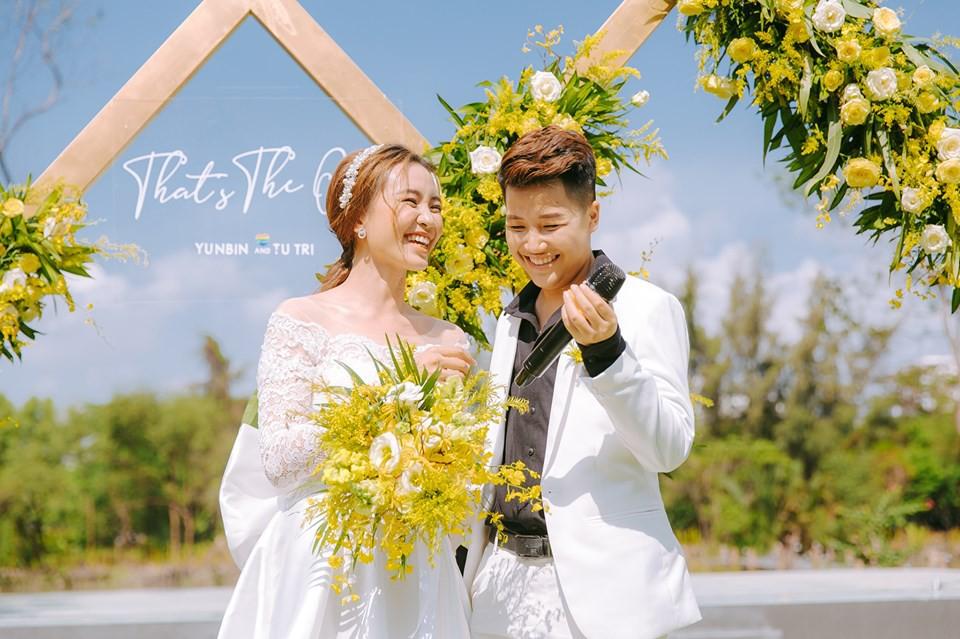 Lễ nguyện thề hạnh phúc của cặp đồng tính nữ Yun Bin và Tú Tri - Ảnh 5.