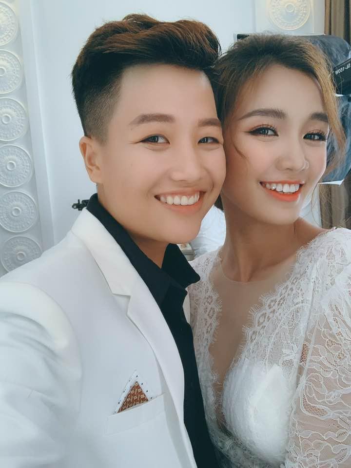 Lễ nguyện thề hạnh phúc của cặp đồng tính nữ Yun Bin và Tú Tri - Ảnh 6.