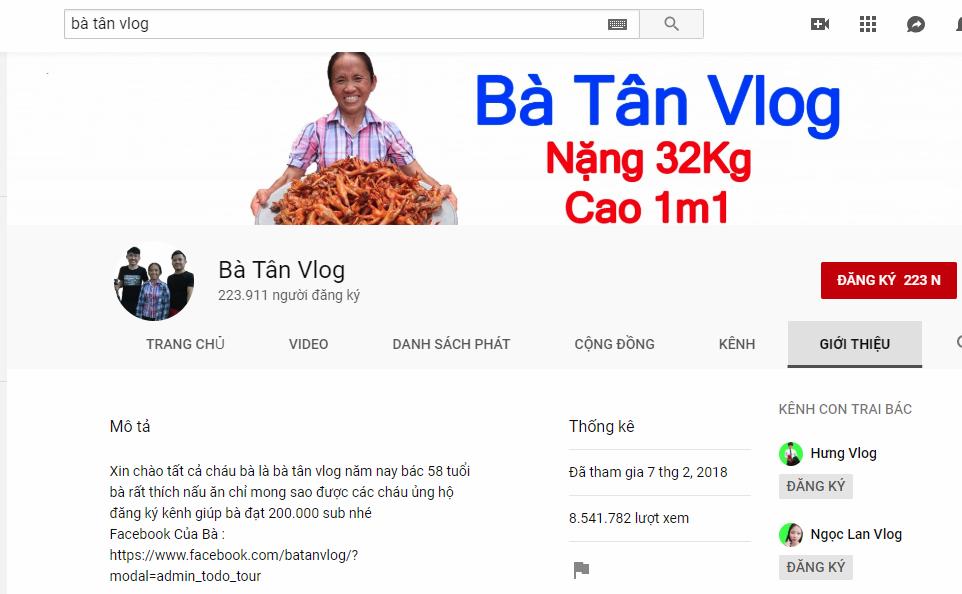 Cụ bà người Việt làm YouTuber, gây bão mạng với kỉ lục hàng triệu lượt xem mỗi ngày - Ảnh 1.