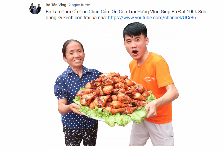 Cụ bà người Việt làm YouTuber, gây bão mạng với kỉ lục hàng triệu lượt xem mỗi ngày - Ảnh 3.