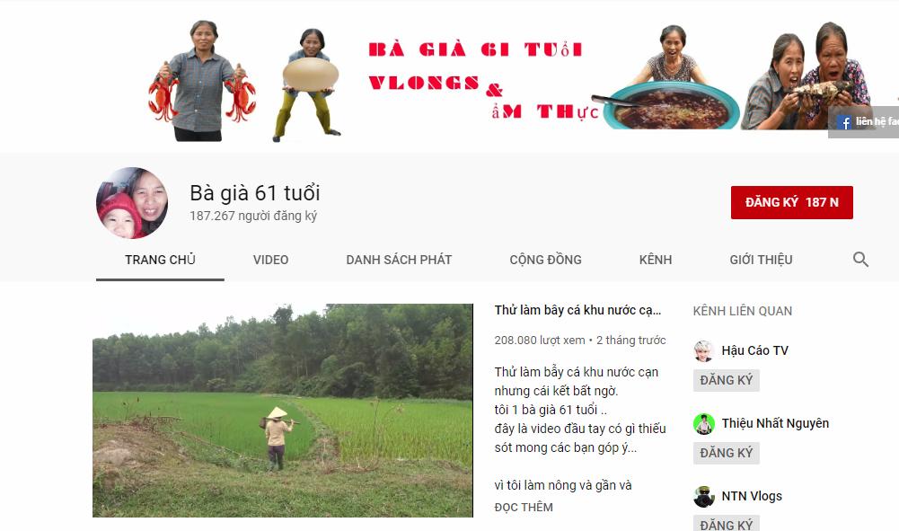 Cụ bà người Việt làm YouTuber, gây bão mạng với kỉ lục hàng triệu lượt xem mỗi ngày - Ảnh 4.