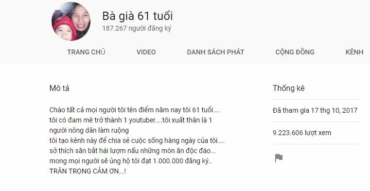 Cụ bà người Việt làm YouTuber, gây bão mạng với kỉ lục hàng triệu lượt xem mỗi ngày - Ảnh 5.