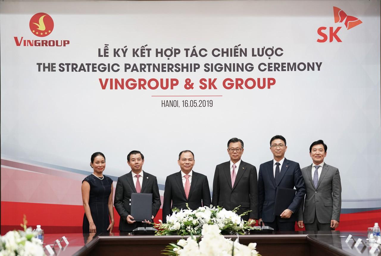 Tập đoàn SK chi 1 tỉ USD mua 6,1% của Vingroup - Ảnh 2.