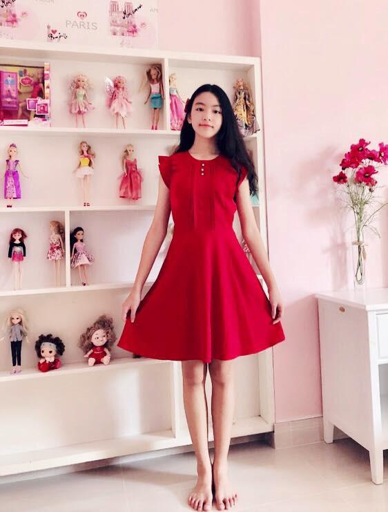 Con gái của MC Quyền Linh cao 1,7m, được ví như bản sao Trương Bá Chi - Ảnh 4.