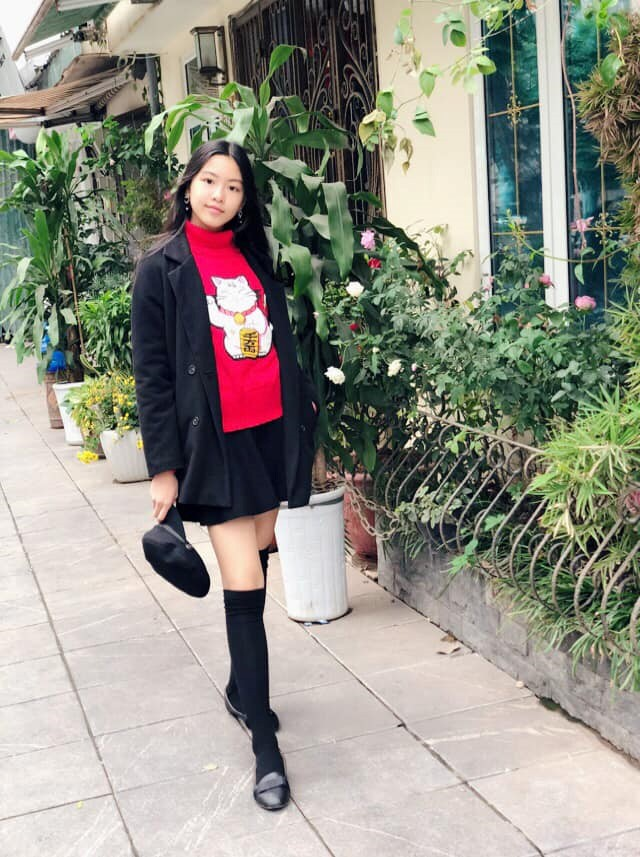 Con gái của MC Quyền Linh cao 1,7m, được ví như bản sao Trương Bá Chi - Ảnh 3.