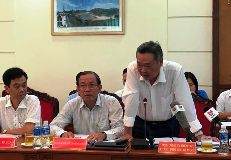 Tổng Giám đốc Điện lực TP HCM: 'Điện lực muốn 1 bậc thang giá điện' - Ảnh 1.