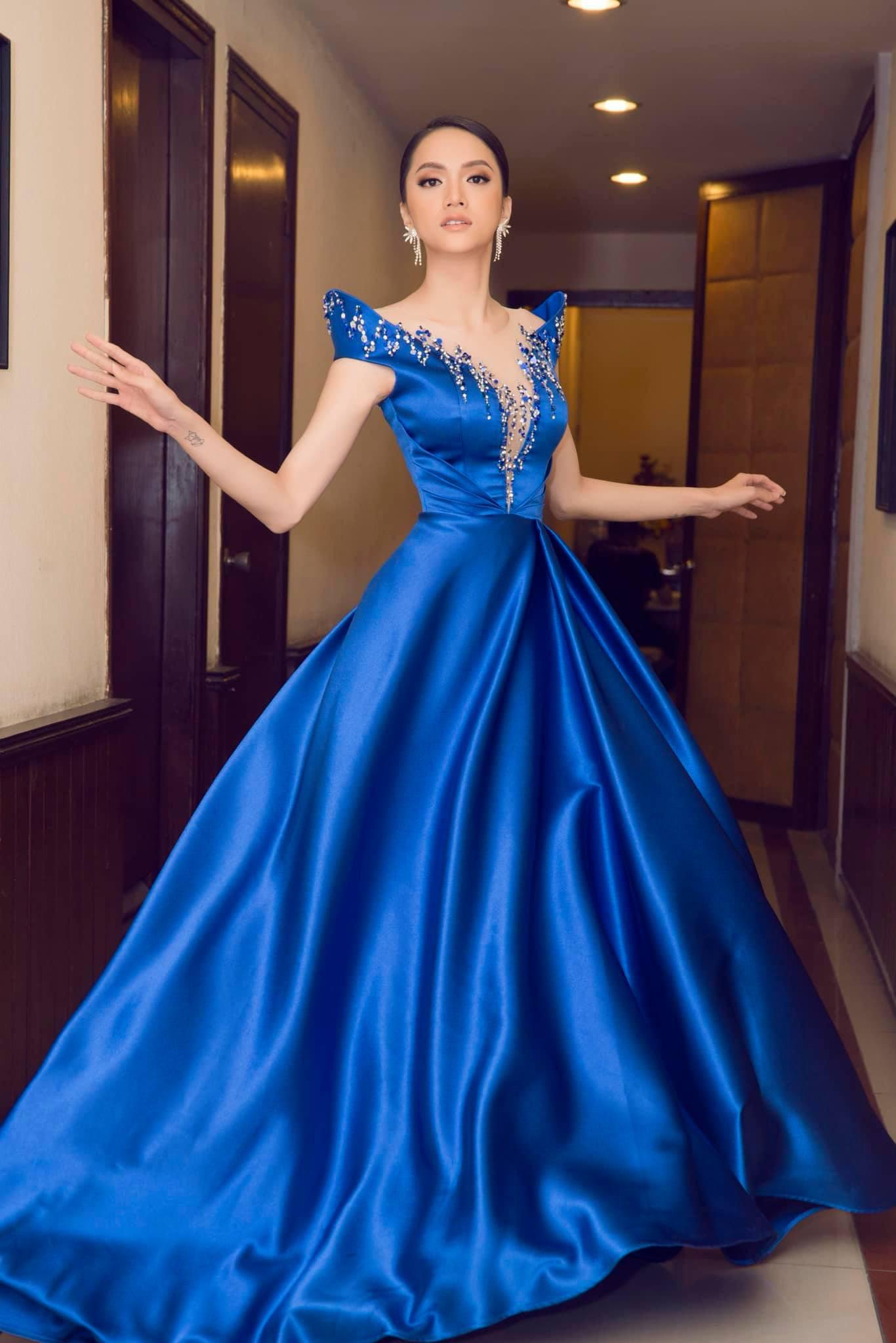 Những chiếc váy giúp Hoa hậu Hương Giang nâng tầm đẳng cấp  - Ảnh 20.