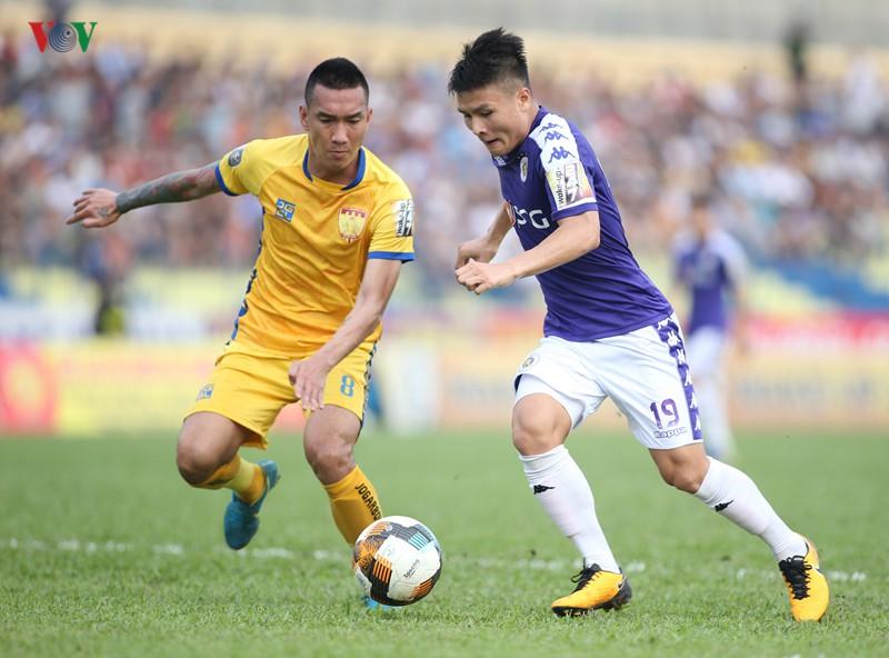 Vòng 10 V-League 2019: Hà Nội FC và Đà Nẵng méo mặt - Ảnh 1.