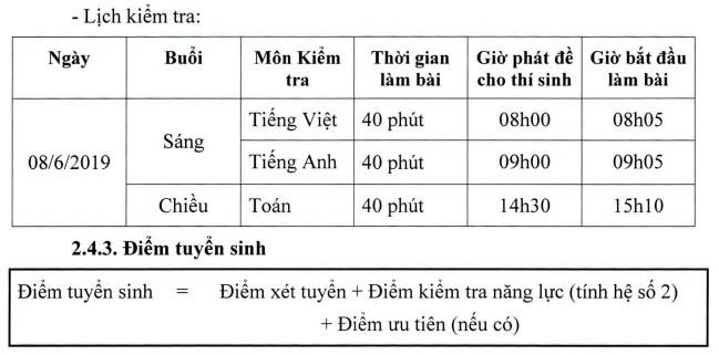 Trường chất lượng cao ở Hà Nội tổ chức thi tuyển vào lớp 6 - Ảnh 1.