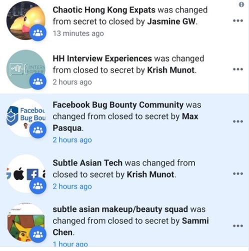 Các nhóm trên Facebook phải rút vào hoạt động bí mật trước cơn bão report tấn công - Ảnh 2.