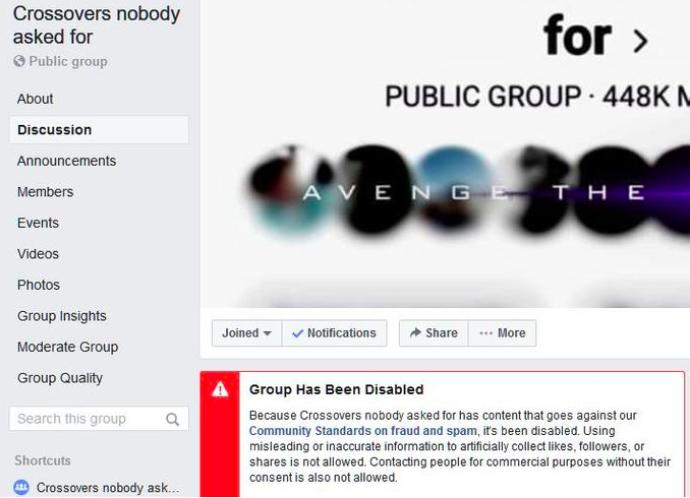 Các nhóm trên Facebook phải rút vào hoạt động bí mật trước cơn bão report tấn công - Ảnh 1.