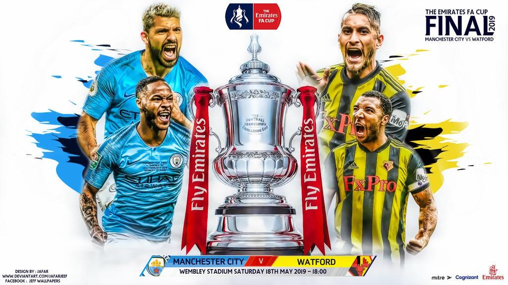 Nhận định Man City vs Watford (23h00, 18/5) Chung kết cúp FA: Cú ăn 3 quốc nội cho Pep - Ảnh 1.