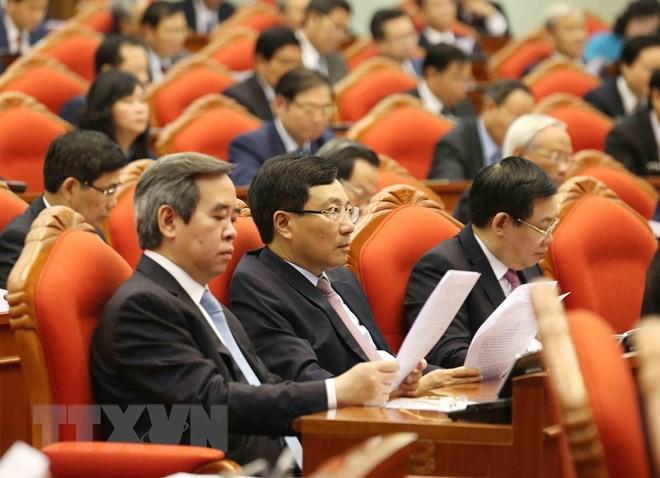 Bế mạc Hội nghị lần thứ 10, Ban Chấp hành Trung ương Đảng khóa XII - Ảnh 14.